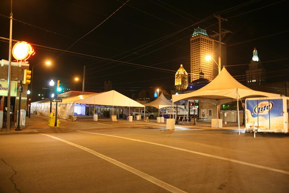 downtown tent