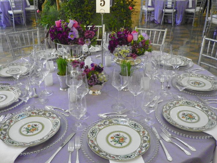 Victoria Floral Dinner Plate