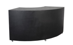 Rental store for 6  BLACK CURVED BAR in Tulsa OK