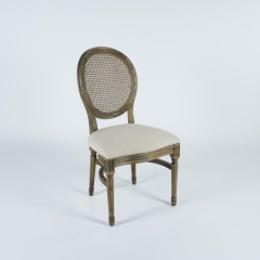 Rental store for Rattan Back Louis Chair in Tulsa OK