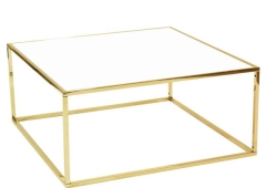 Rental store for Carleton Gold   White Frame Table in Tulsa OK