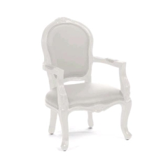 Rental store for WHITE WINDSOR CHAIR in Tulsa OK