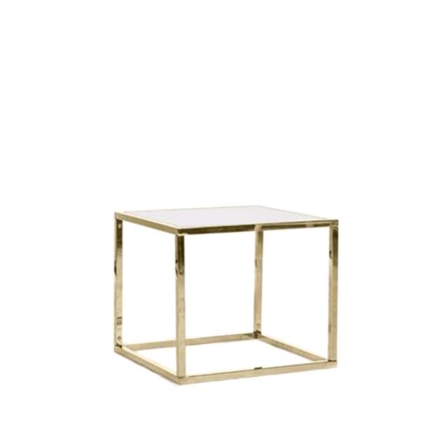Where to find MERCER GOLD FRAME SIDE TABLE in Tulsa