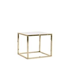 Rental store for MERCER GOLD FRAME SIDE TABLE in Tulsa OK