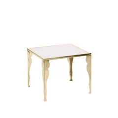 Rental store for MERCER GOLD SILHOUETTE SIDE TABLE in Tulsa OK