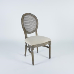 Rental store for Chair Grey Dust Rattan- Back Louis in Tulsa OK