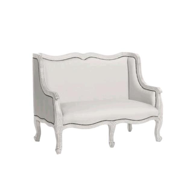 Where to find WHITE HERITAGE LOVESEAT in Tulsa