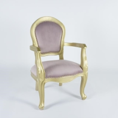Rental store for GOLD   DUSTY ROSE WINDSOR CHAIR in Tulsa OK