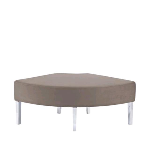Where to find PEWTER   SS KINCAID CURVE OTTOMAN in Tulsa