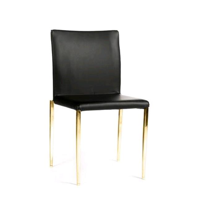 Where to find DELANO GOLD   BLACK CHAIR in Tulsa
