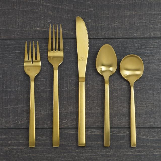 Where to find AREZZO GOLD FLATWARE in Tulsa
