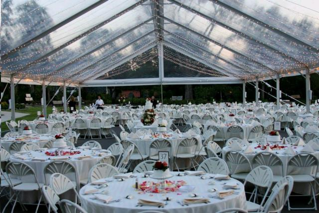 40 Foot Wide By X Maxi Tube Gable Tent Rentals Tulsa Ok