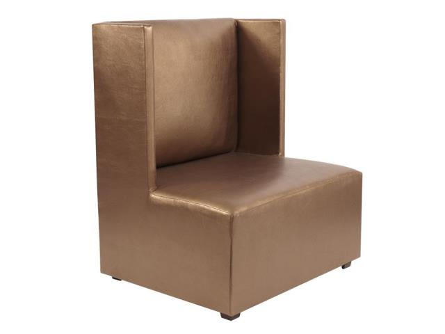 Where to find Square Wingback Bronze Chair in Tulsa