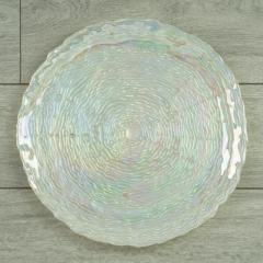 Rental store for Charger Pearl Iridescent Glass in Tulsa OK