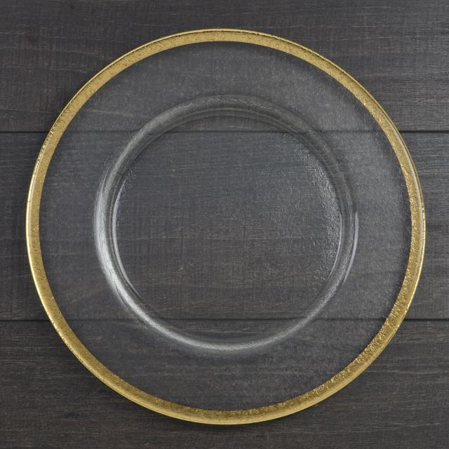 Where to find Charger Eclisse Glass with Gold Trim in Tulsa