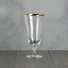 Rental store for Glassware Charlotte Gold Water 15oz in Tulsa OK